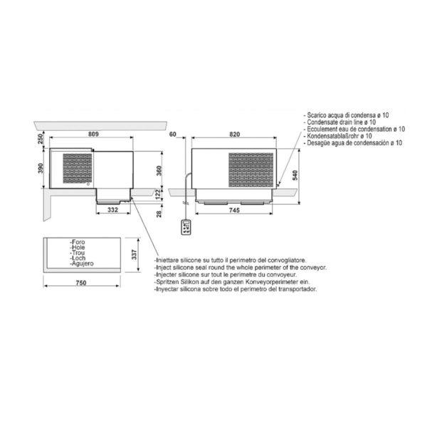 Laemonoplokk MSB210FA11XX