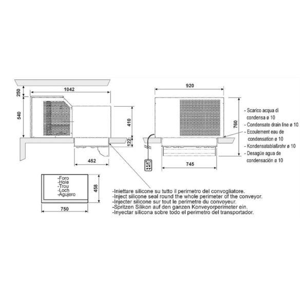 Laemonoplokk MSB425FB11XX